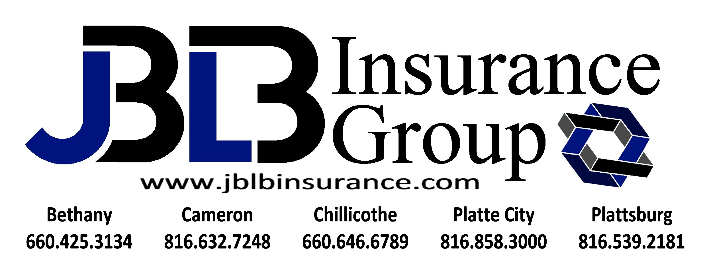 JBLB Insurance Group Locations wsite